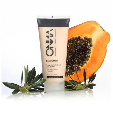 Mascarilla exfoliante de manos de Papaya, 200ml